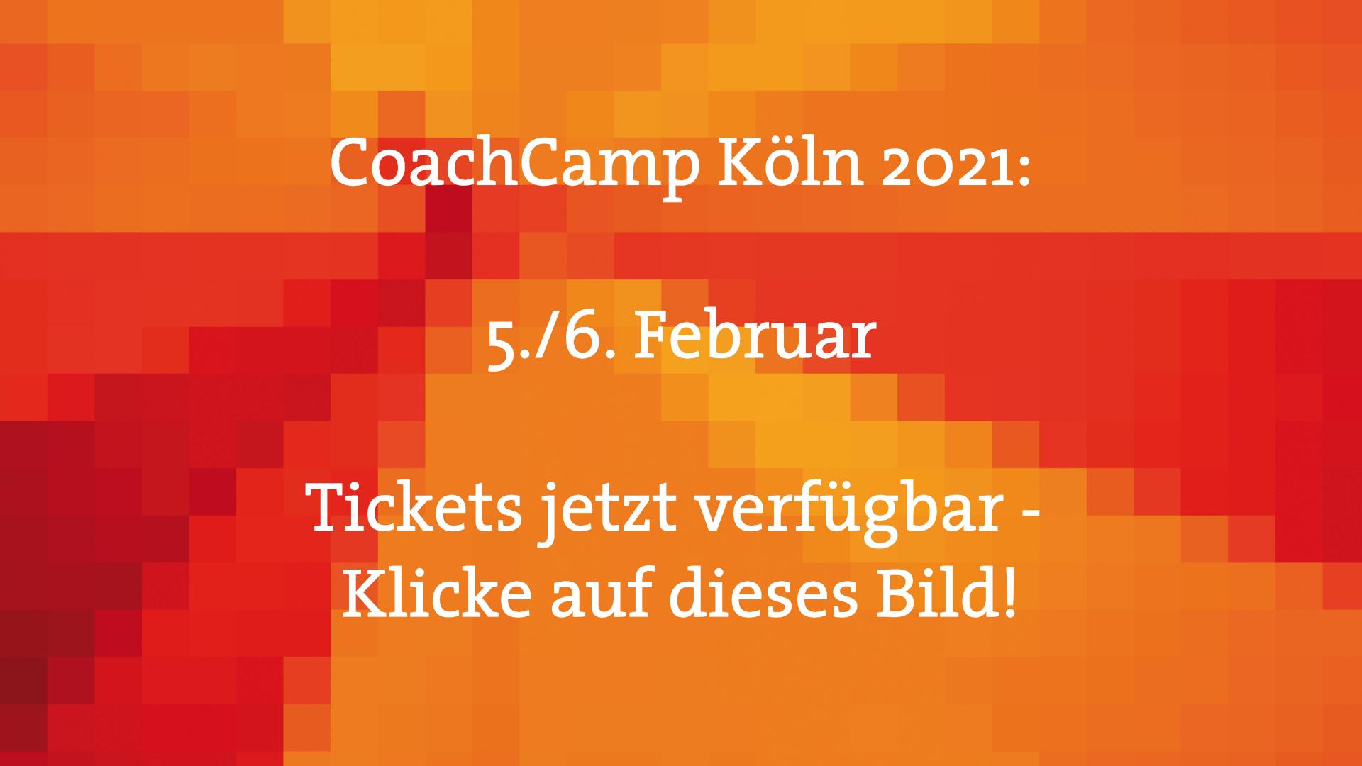 CoachCamp Köln 2021